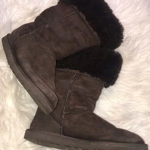 Brown UGG Boots, Size 9